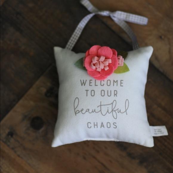 Hobby Lobby Other - welcome pillow door hanger